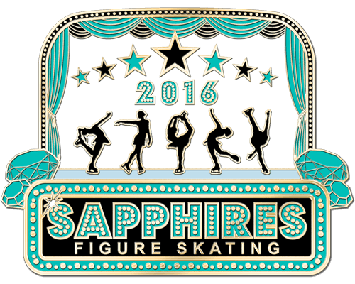 Figure Skating Pins